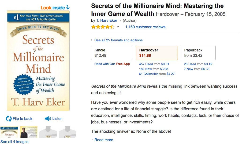secrets_of_the_millionaire_mind__mastering_the_inner_game_of_wealth__t__harv_eker__9780060763282__amazon_com__books