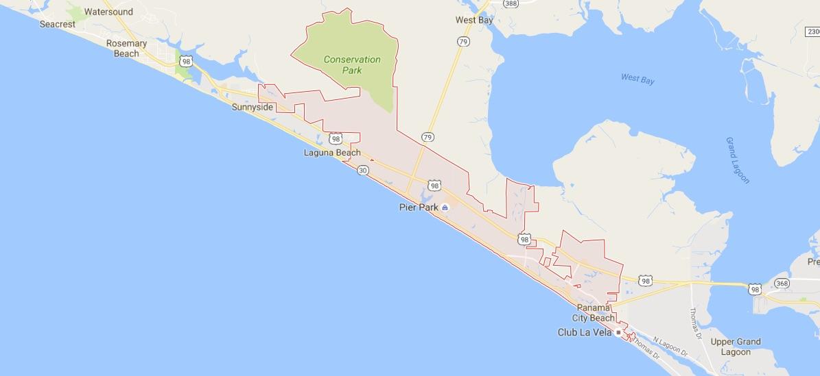 panama_city_beach_-_google_maps